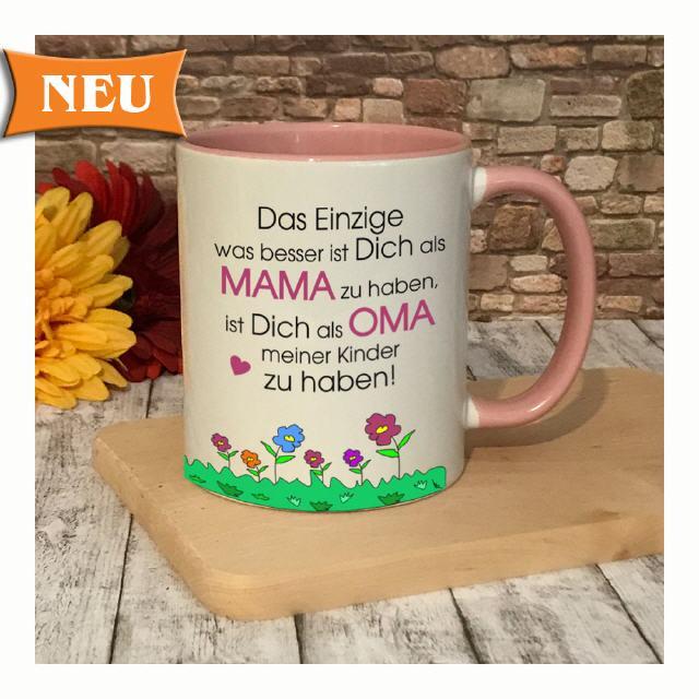Tasse für Oma